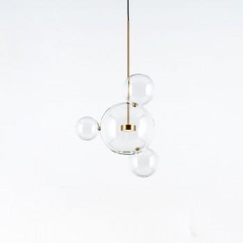 Дизайнерский потолочный светильник Bubbles 1+3AG