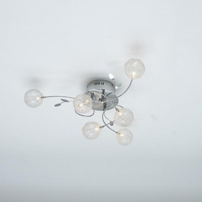 Потолочная люстра с круглыми плафонам GU6505/6
