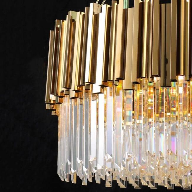 Люстра подвесная хрустальная Luxurious Crystal