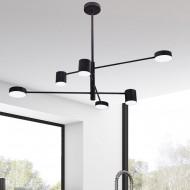 Потолочный светильник MJ WINK 6 4000K BK 16001