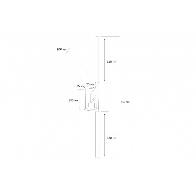Настенный светильник MJ KONO WALL 3200K WH 15006