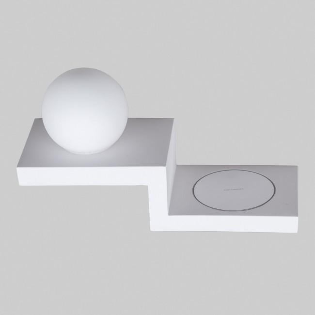 Настенный светильник MJ CHARGER L 3200K WH 15013 c беспроводной зарядкой