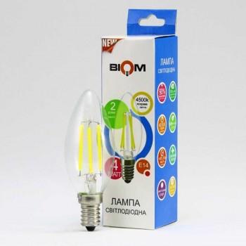 Светодиодная лампа BIOM FL-306 4W E14