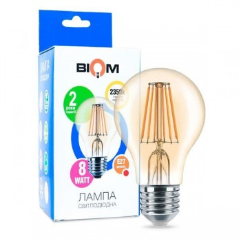 Светодиодная лампа BIOM FL-411 8W E27